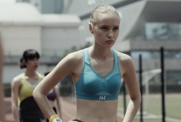 361度南京青奥会宣传片中片头的第一个女生是谁?