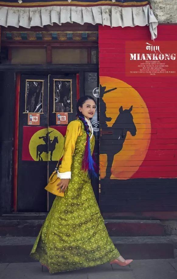 还能这么美!西藏这位老师惊艳了世人! -  - 真光 的博客
