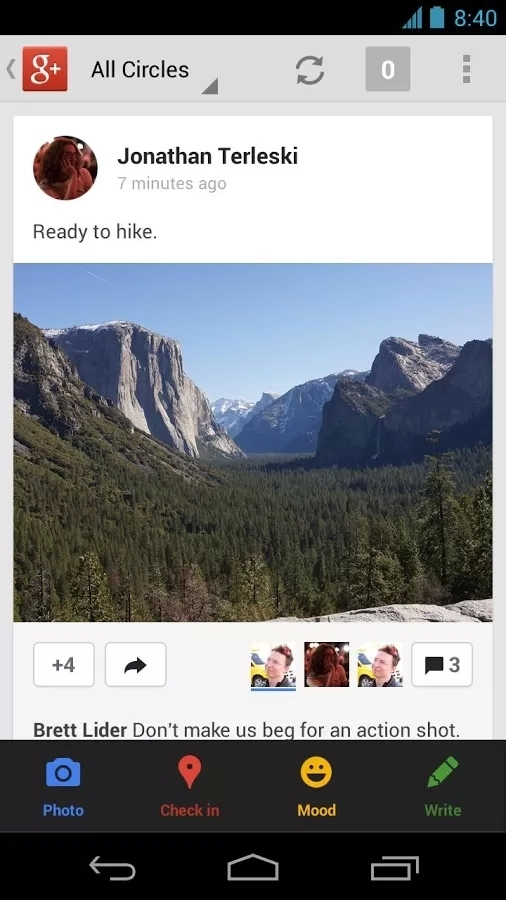 Google+截图3