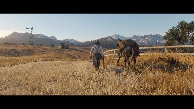 《荒野大镖客:救赎2》游戏画面