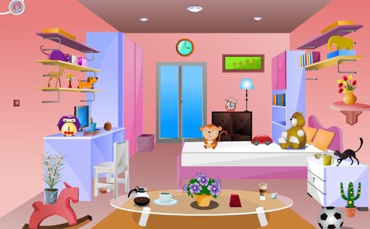 小女孩的房间逃脱,小女孩的房间逃脱小游戏,360小游戏