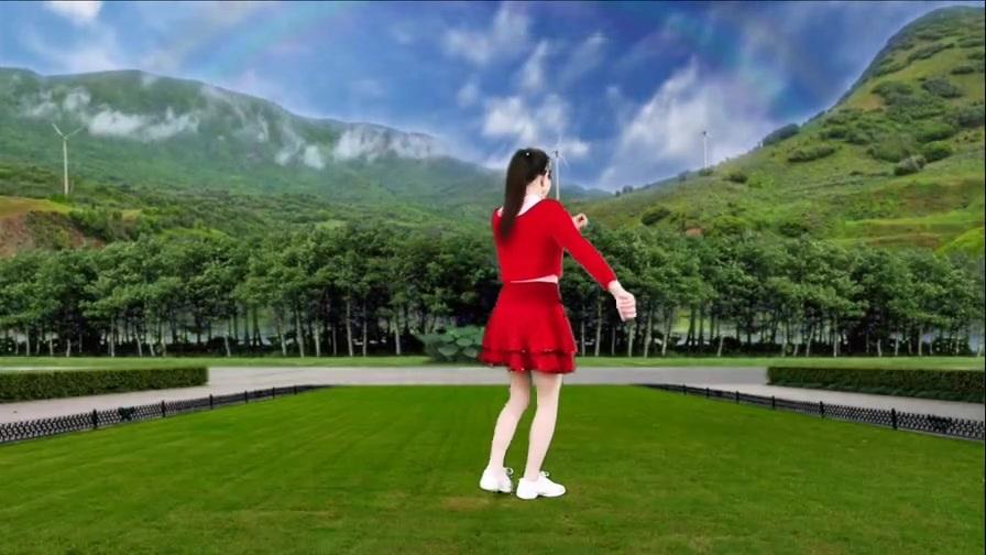 欢快DJ广场舞《遍地是情歌》唯美动听,精彩时尚,简单好看附教学