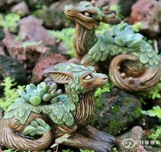 儿童画龙和蛇