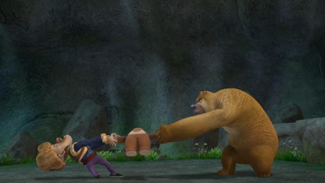 熊二光头强抢玩具!这两人太幼稚了!