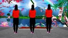 学会这支舞水兵舞今天你是广场最美的《忘川的河》背面演示