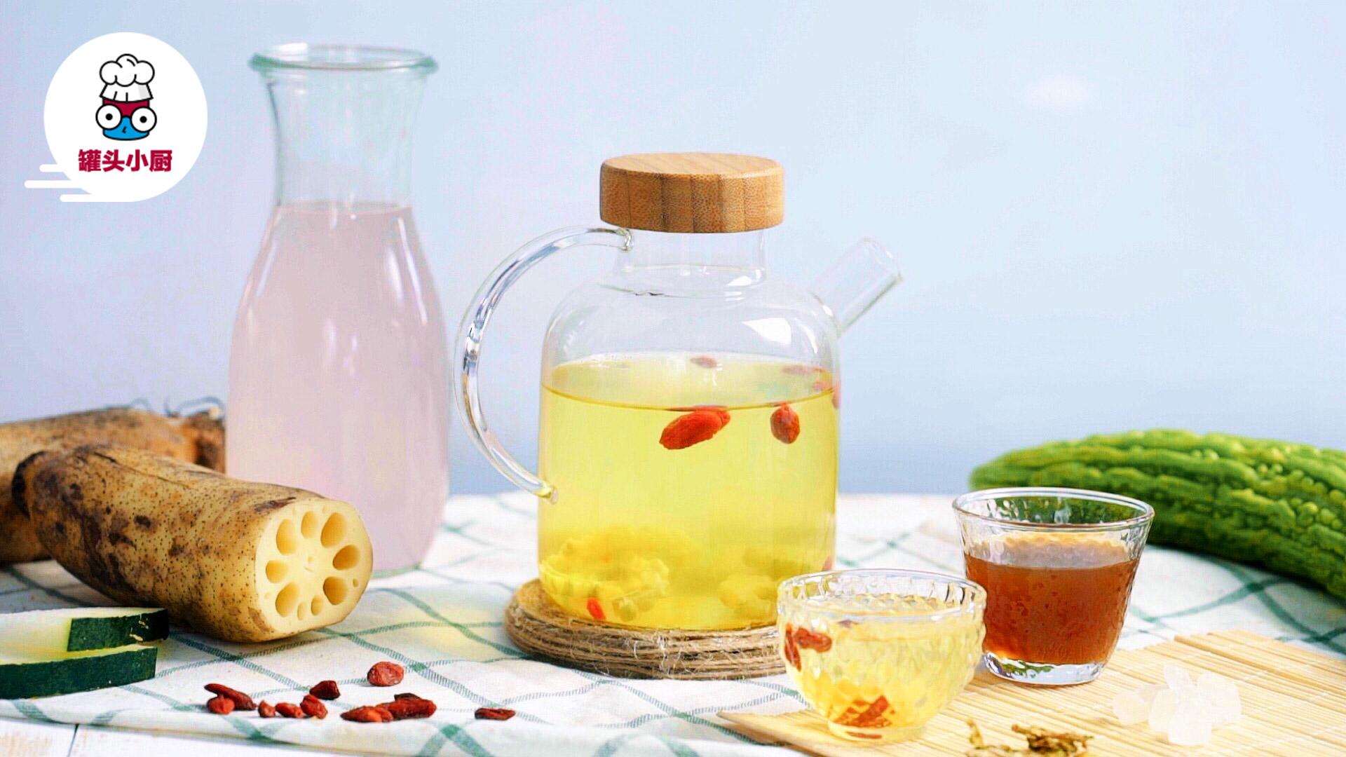 4款夏日消暑果蔬凉茶!