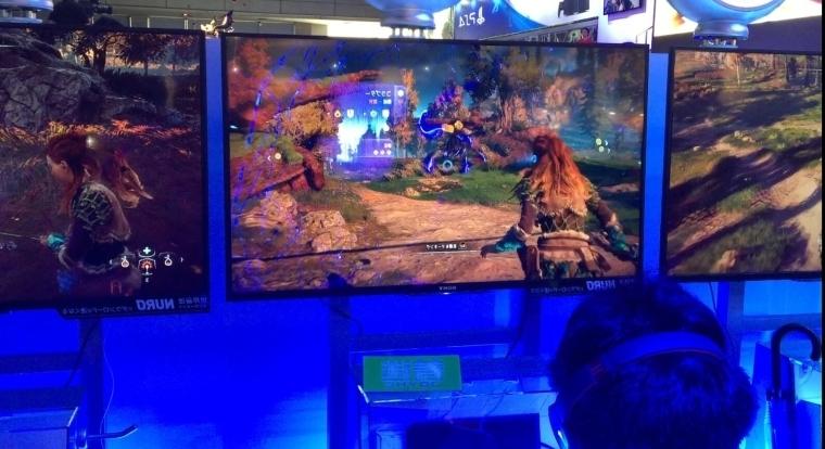 TGS 2016:PS4《地平线:黎明时分》试玩视频放出