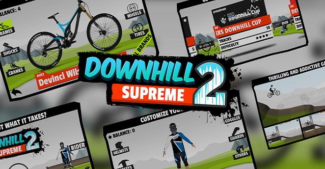 极速下坡2 修改版 Downhill Supreme 2截图1