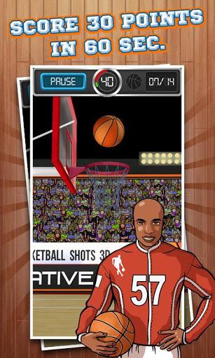 投篮3D Basketball Shots 3D截图1