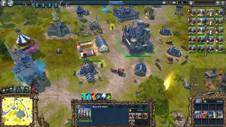 《王权2:幻想王国》(Majesty2:TheFantasyKingdomSim)就如其名,是款中世纪幻想世界为背景的王国建设模拟游戏。如今游戏的开发商换成了Ino-Co,发行商也换成ParadoxInteractive。游戏里玩家不仅要抵御怪物的侵袭,还可以向市民收取税金、建造公共设施,逐渐把城市建造成大都市。游戏特色:《王权2:幻想王国》的游戏性既新奇又独特,这一因素也使得游戏的整体水平提升到了一个新的高度。它与其他即时战略游戏最大的区别在于其操作方式,在以往的游戏中玩家可以随意控制自己所有的作战单位