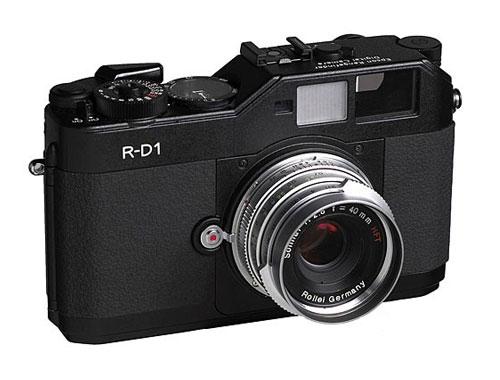 世界第一台旁轴数码相机