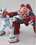 HG夏亚专用型魔蟹VS吉姆Ver.GFT