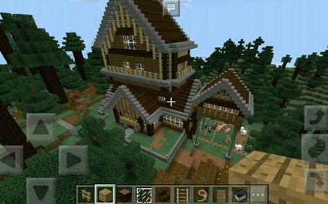 我的世界复古风小别墅图片大全 好看的房子设计图