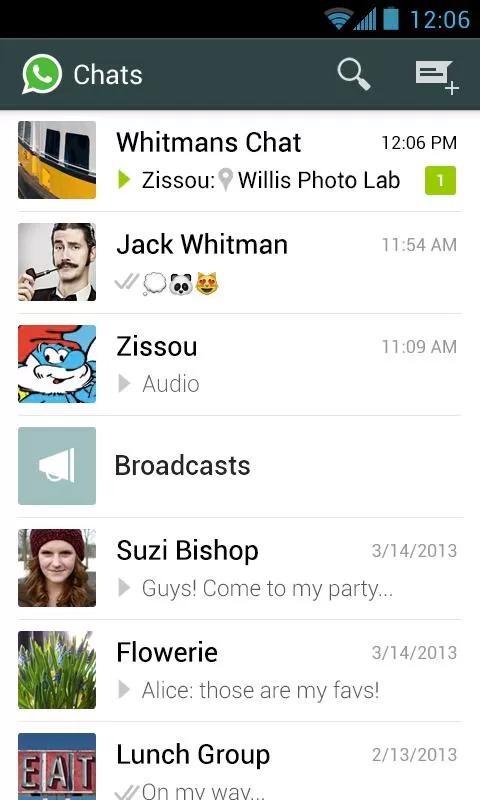 手机通信WhatsApp Messenge截图2