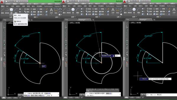 cad另一段30的网格画_360v网格cad打印怎么圆弧上的出来图片