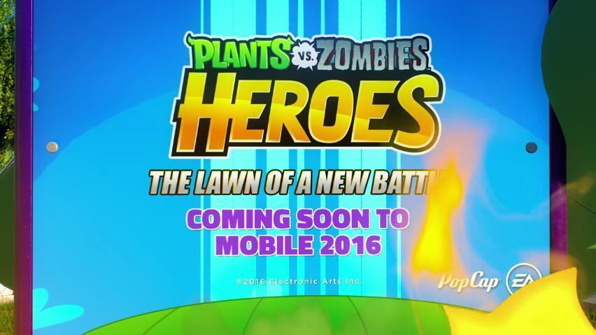 《植物大战僵尸:英雄》宣布登移动平台