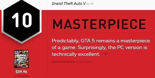 神秘海域4和GTA5哪个游戏更好玩