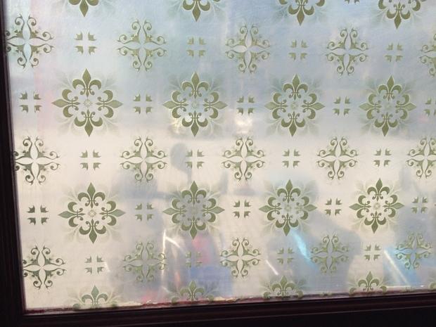 白色透明花纹素材
