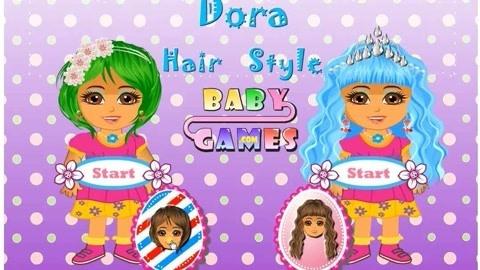朵拉新发型爱探险的朵拉