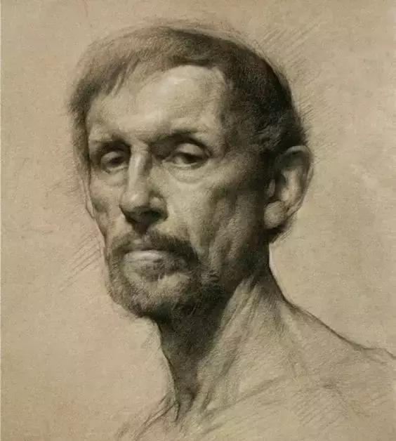 俄罗斯素描画家怎么处理素描关系 ART 第11张