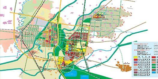 德州旅游手绘地图