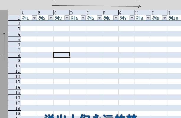 "excel07版表格 栏位和列位边新开的拓展栏,上面的""箭头""可以隐藏或"