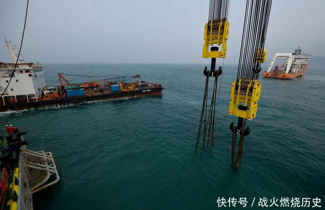 中国东海打捞二战日本沉船,曾载有40吨黄金,海底打捞却见怪事