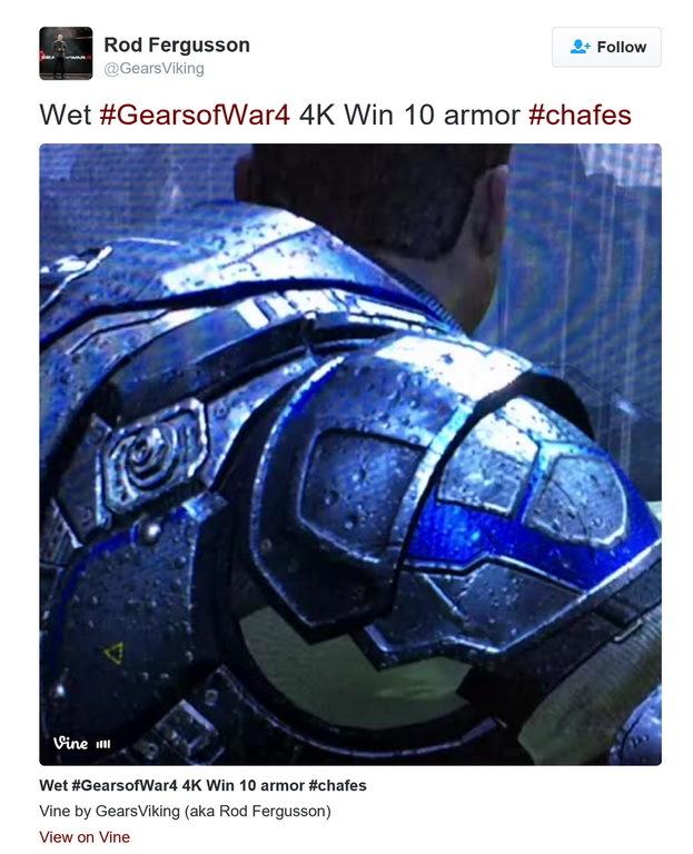 《战争机器4》PC版有4K画质