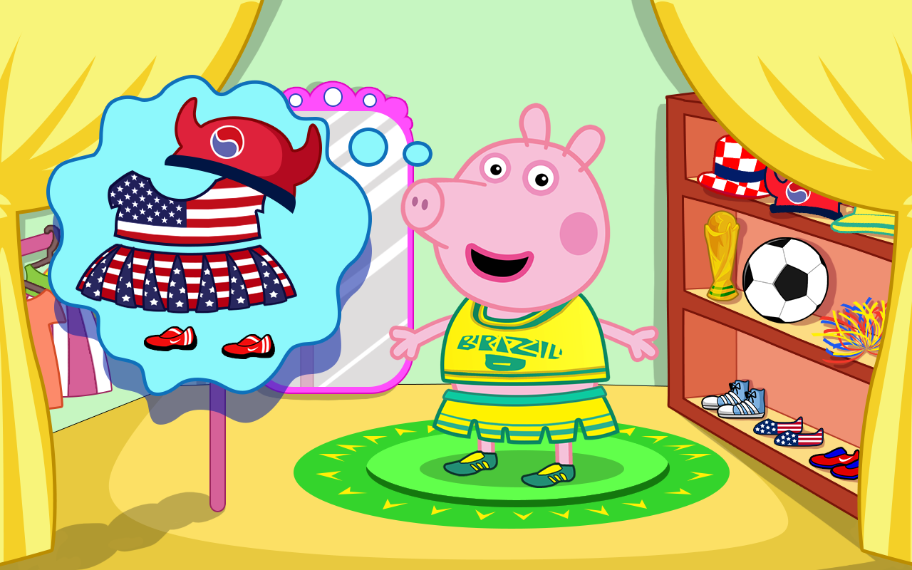粉红猪小妹打扮 - 新浪应用中心