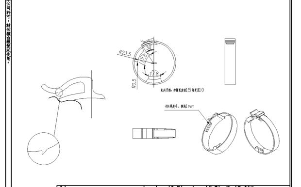 CAD螺母中打印不出标注_360v螺母cad布局去画怎么中图片