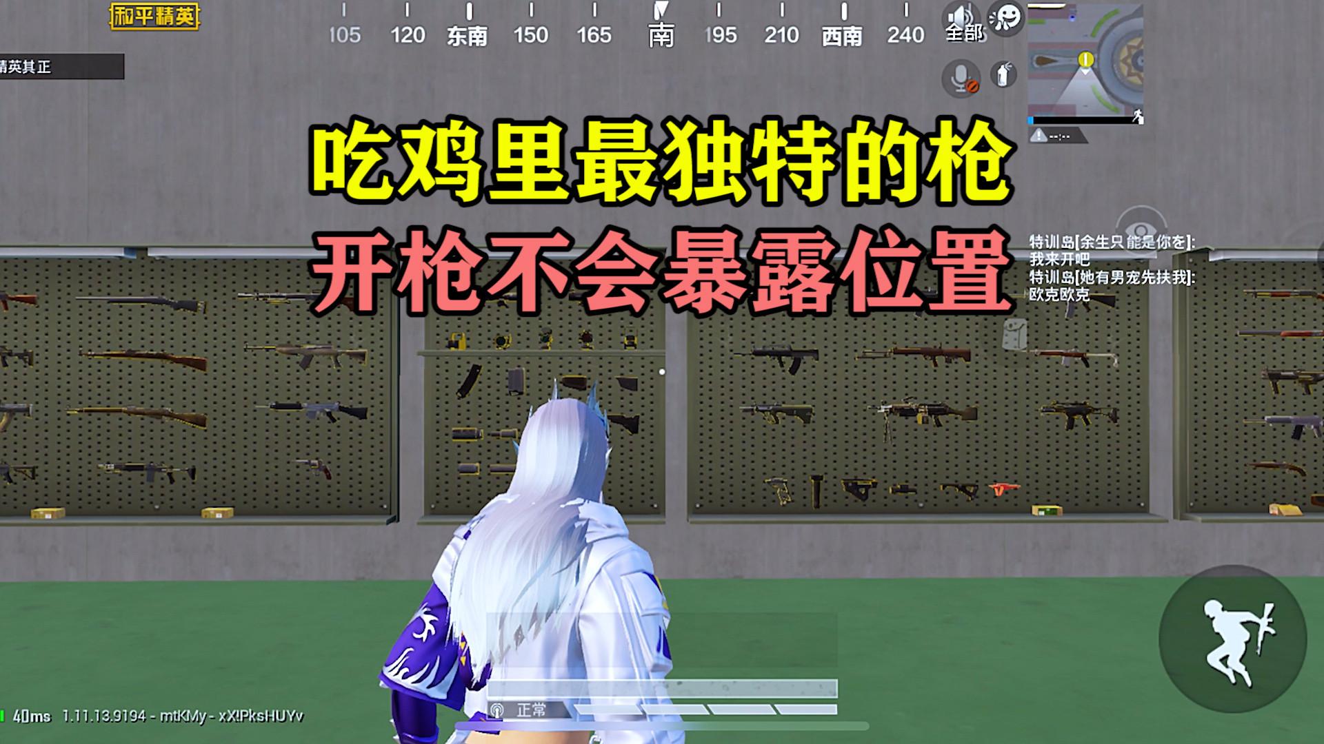 和平精英:吃鸡里最独特的枪!新手看不上,老玩家爱不释手