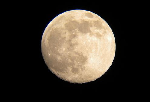 月亮的变化过程图片