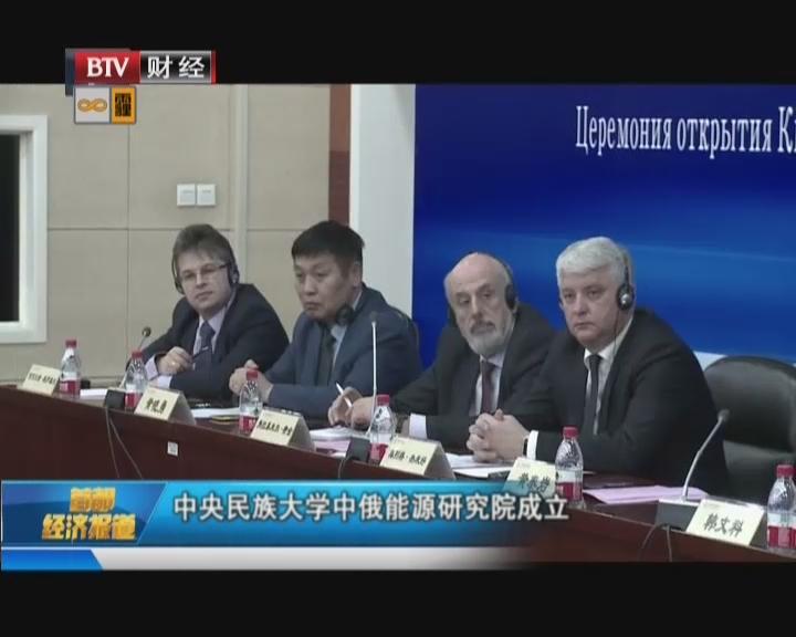 中央民族大学中俄能源研究院成立