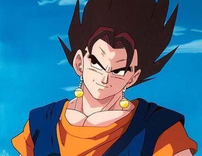 戴着波塔拉耳环,身穿橙色短袖