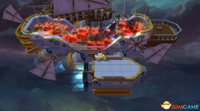 """《冒险岛2》天空堡垒 全新""""世界入侵""""副本篇"""