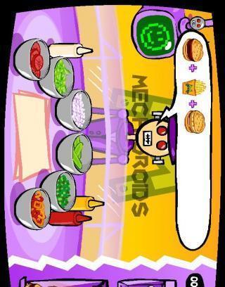 机器人汉堡店截图1