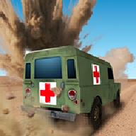 4×4越野救护车游戏