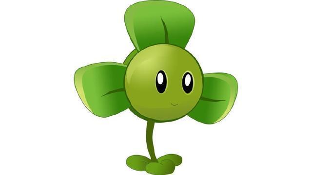 三叶草也是一种非常可爱的植物,看看他的样子眼睛瞪得大大的。在游戏中,这种植物的作用是很大的,当出现一大波僵尸的时候,可以选用三叶草把僵尸全部吹走。另外,不知道大家有没有听过这样的一个花语,就是找到四叶草的人会找到幸福,三叶草比比皆是,可四叶草真的是可遇不可求! 3、金盏花