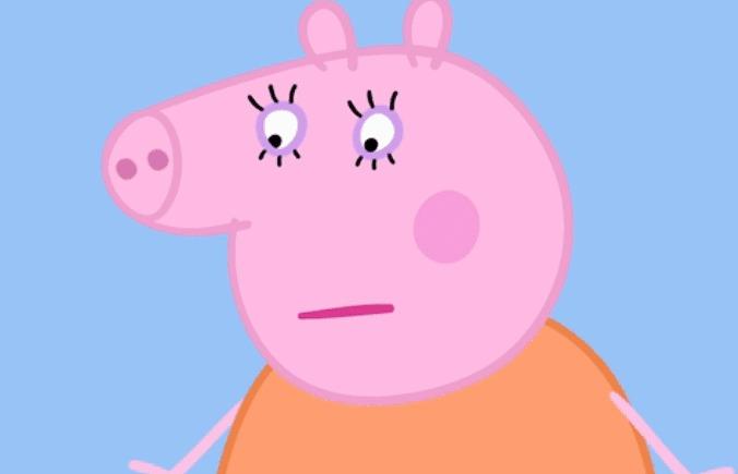 猪妈妈能坚持原则(比如小猪佩奇和乔治永远在晚上7点上床睡觉),但偶尔