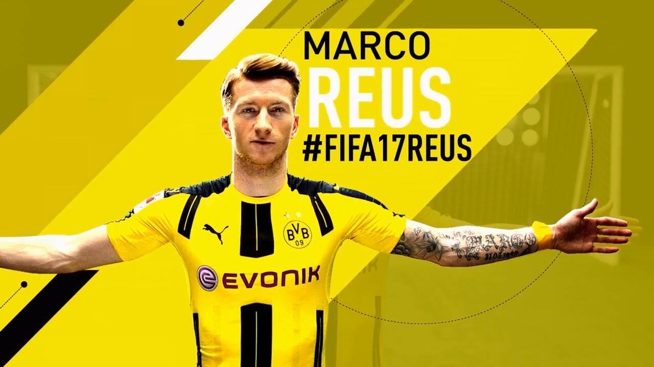 《FIFA 17》封面人物罗伊斯