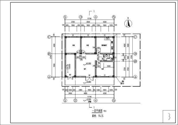 5乘10平方米房子平面设计图?像这样的平面图柱子