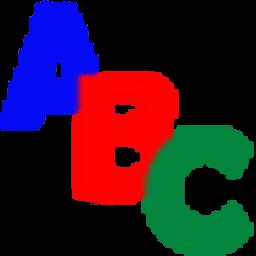 免费学习字母: