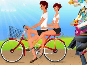 单车课课春游,情侣答案春游小游戏,360小游戏练单车小学英语情侣图片
