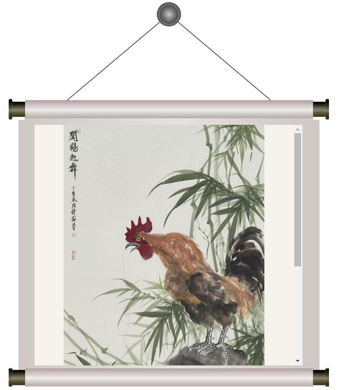 长安画派代表画家王金岭与青年画家张修安探讨书法和绘画艺术 - 挥毫泼墨 - 挥毫泼墨的博客