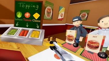 VR经营游戏《孤单汉堡店VR》登陆Gear VR 可下载安装