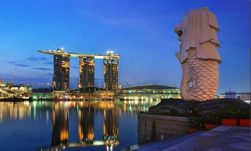 位于滨海湾的新加坡金沙娱乐城,被誉为是世界上最贵的独立赌场建筑