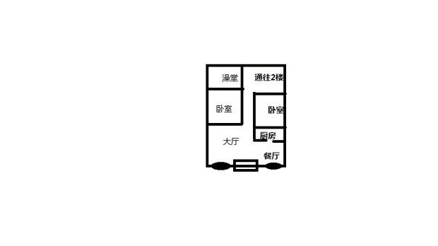 图上长方形是大门,椭圆是窗户.农村自建房来的.大师帮忙看下吧图片