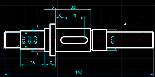 CAD画倒角、圆角cad标注多点图片