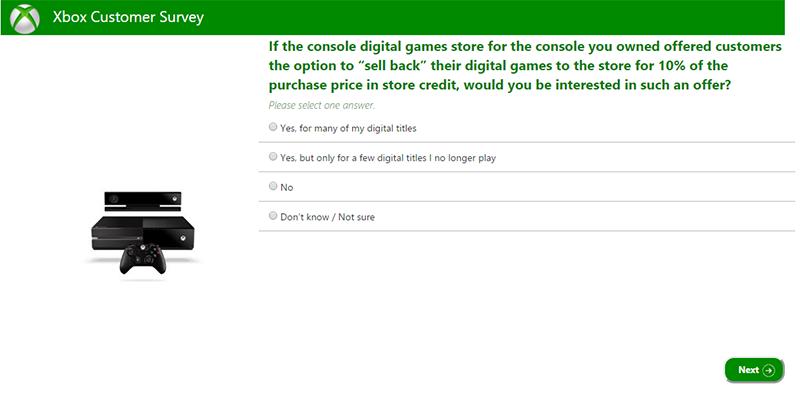 微软欲以十分之一价格回购数字版游戏