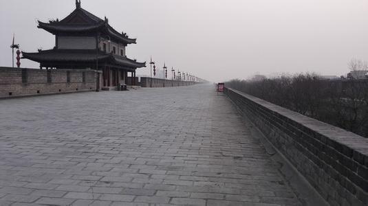 西安古城墙入口